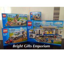 LEGO 60044 City Mobile Police Unit 60043 60042 60041 Box Sets x 4 SEALED NEW HTF