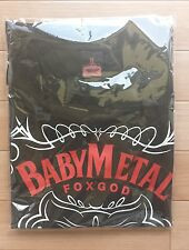 BABYMETAL 「FOX CITY」TEE T shirt New Japanese XL size Sold out Guns N Roses