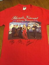 Rhonda Vincent & The Rage All American Bluegrass Girl 2006 Autographed T-shirt