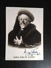 GEORGE ROBEY - ACTOR & MUSIC HALL STAR - EXCELLENT SIGNED ' FALSTAFF ' PHOTO
