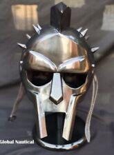 Medieval helmet Maximus Roman Gladiator handmade battle ready good helmet