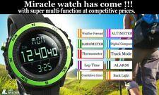 LAD WEATHER German Sensor Altimeter Green Weather Forecast Compass Outdoor Watch