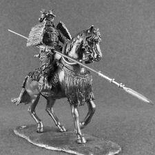 Toy Soldiers Medieval Rider 1/32 Japanese Horseman Samurai Warrior Tin Figurine