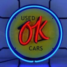 OK Used Cars Jr. Neon Sign