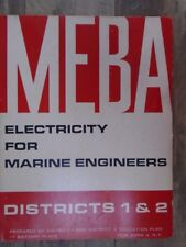 MEBA Electricity For Marine Engineers by