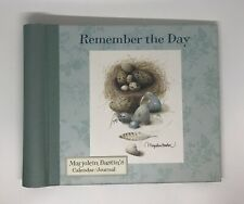 Hallmark Marjolein Bastin Remember the Day Calendar Journal, Unused