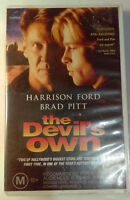 The Devil's Own VHS 1997 Harrison Ford Original Columbia / First Release Large
