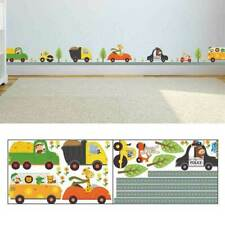 Animal Car Wall Stickers For kids Room Children Boy Decals Decor Bedroom .W G0R9