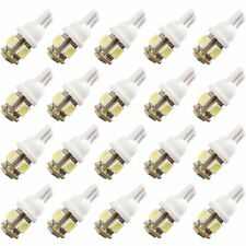 20pcs T10 5050 5SMD White LED Car Light Lamp Bulbs Super Bright DC12V Tail light
