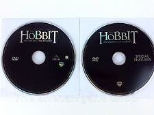 The Hobbit: An Unexpected Journey DVD 2-Disc Set *Discs Only* NEVER USED