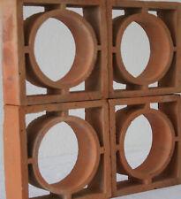 Formziegel Dekorziegel Kreis Zierziegel dekoratives Element für Haus und Garten