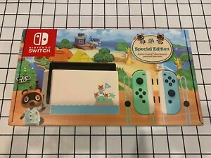 Nintendo Switch Animal Crossing: New Horizons Edition Console Brand New