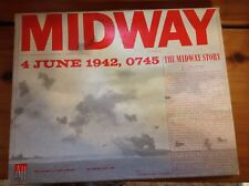 VINTAGE 1964 MIDWAY BOARD GAME L@@K  AT DETAILED PICS CHALLENGING NAVY WWII