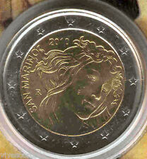 San Marin 2010 Porte-documents officiel 2 Euros Sandro Botticelli @ Nº 7 @