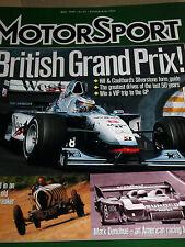 BARONE Emmanuel De Graffenried 1949 British Grand Prix MASERATI 4clt/48 BIRA era