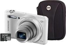 Samsung WB Series WB35F 16.2MP Digital Camera - White