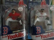 KEVIN YOUKILIS MCFARLANE BOTH RED AND WHITE JERSEY VARIANTS MOCS