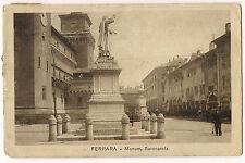 Ferrara - Monumento Savonarola