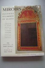 Miroirs Galeries et Cabinets de Glaces 1956 Spiegel