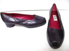 VAN ELI Leather Shoes Eggplant Purple Made in SPAIN SIZE Women's 9.5 M NWOB