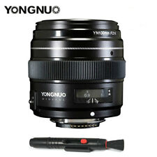 Yongnuo YN100MM F2 Medium Telephoto Prime Lens for Nikon AF MF D3300 D5300 US