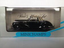 MINICHAMPS 1:43 Mercedes 300S Cabriolet 1951-55 Black 032342