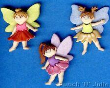 LILY BRIGHTS Flower Summer Spring Garden Novelty Dress It Up Craft Buttons