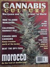 CANNABIS CULTURE MAGAZINE APRIL/MAY 2003 MOROCCO ISSUE!!