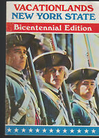 New York State Vacationlands Bicentennial Edition 1976