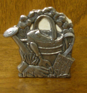 CARSON STATESMETAL WATERING CAN MINI LITE CANDLE HOLDER, #1381 MADE IN USA