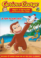 Curious George - Takes a Vacation & Discovers  New DVD