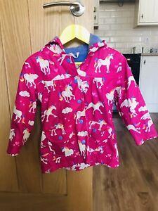 Hatley Girls 3 Years Unicorn Raincoat/jacket