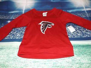 Atlanta Falcons NFL Football Jersey-Style Top, Girl's  XSmall (4/5), BRAND NEW