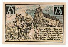 Duitsland / Germany - notgeld - Wesenberg - 75 Pfennig