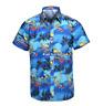 New LARGE SIZE Men Aloha Shirt Cruise Tropical Luau Beach Hawaiian Party Summer