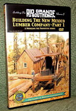 "20011 MODEL RAILROAD VIDEO DVD ""BUILDING THE RGS #5"" NEW MEXICO LUMBER"