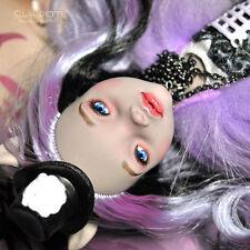 1/6 OOAK Gothic Mattel Monster High MH Freak Clawdeen Wolf Custom Doll Repaint