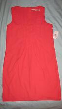 Rachel Roy size 10 hot pink sleeveless knee length dress