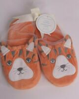 NWT Pottery Barn Kids Critter slippers: Tiger, size Large, 13 1 2