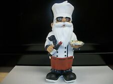 "Cook / Chef Gnome Poly Resin 11"" Tall"