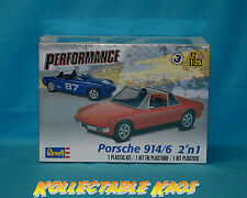 1:25 Revell -  Porsche 914/6 2'n1 - Plastic Model Kit(85-4378)