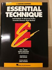 Essential Technique, Eb Baritone Saxophone, (Essential Elements Band Method)