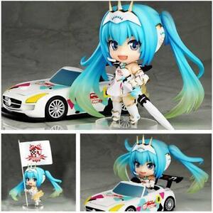 Racing Hatsune Miku 2015 Version Nenroid Figure & Car Set #517  10