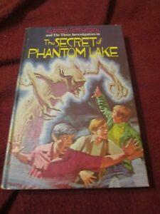 The Three Investigators Secret of Phantom Lake by William Arden (1973, HC) first