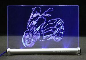 LED-Leuchtschild graviert ist TMAX 500 T-MAX 500 yama  PRÄSENT Geschenk