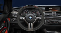 Genuine BMW M Performance Carbon/Alcantara Race Display Steering Wheel M3 M4