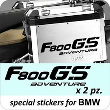 BMW MOTORCYCLE F800GS/GSA L/R.PANNIERS/CASES DECAL/STICKERS.!!