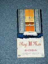 """BOYS II MEN Japan 1993 Tall 3"""" CD Single LET IT SNOW"""