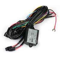 DRL Daytime Running LED Light Relay Harness Control On Off Dimmer for Auto Car