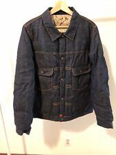 BNWT Mens Visvim SS 101 Down Jacket One Wash, Denim / Jean Down Jacket, Size 3